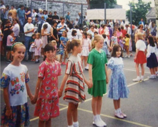 Photo of the Summer Fayre in 1989