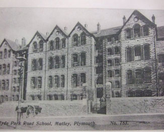 Old photo of the school